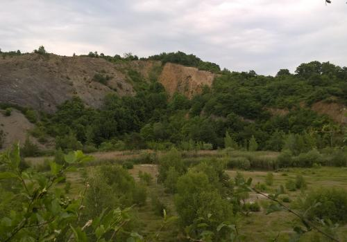 Hady quarry in Brno Czech Republic