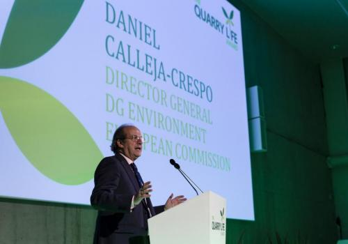 Daniel Calleja-Crespo, Director General, European Commission DG Environment (Photo F. Van Grootel)
