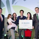 """Grand Prize winner 2016 - Dr Rocío de Torre Ceijas - Project """"Linking quarries and surroundings by restoration ecology for semi-aquatic mammals"""""""